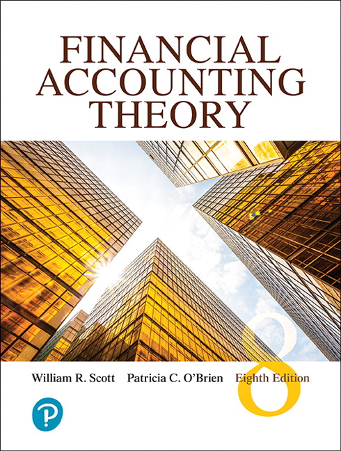 Solution manual for Financial Accounting Theory 8th Edition by William R. Scott