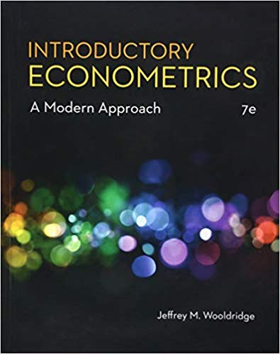 Solution manual for Introductory Econometrics: A Modern Approach 7th Edition by Wooldridge的图片 1