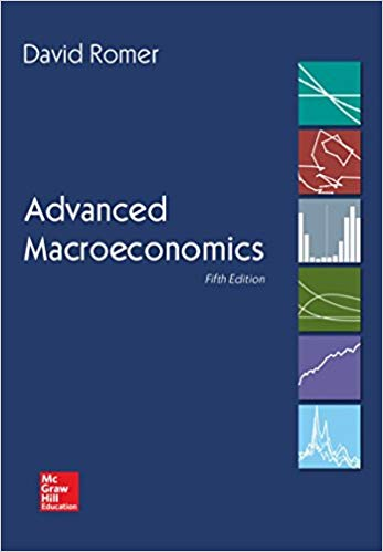 Solution manual for Advanced Macroeconomics 5th Edition by David Romer的图片 1