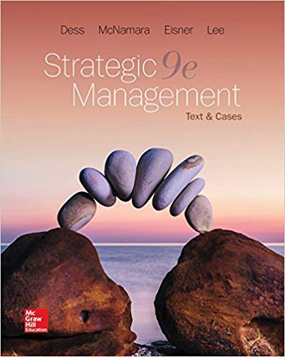 Test bank for Strategic Management: Text and Cases 9th Edition by Gregory Dess的图片 1