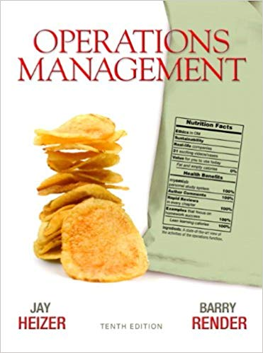 Test bank for Operations Management 10th Edition by Jay Heizer