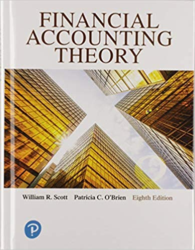 Financial Accounting Theory 8th Edition by William R. Scott的图片 1
