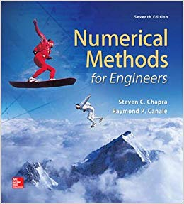 Solution manual for Numerical Methods for Engineers 7th Edition by Steven Chapra