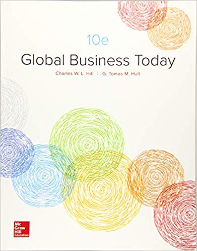 Test bank for Global Business Today 10th Edition by Charles Hill