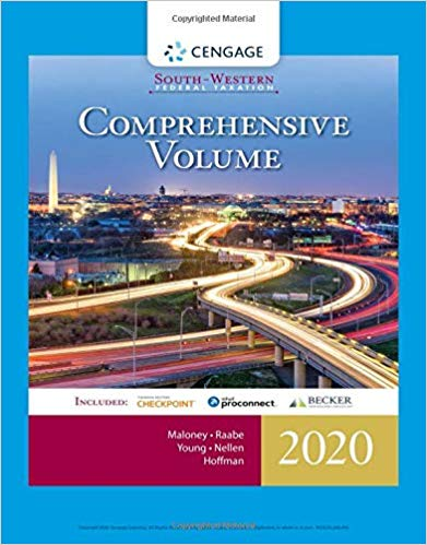 Test bank for South-Western Federal Taxation 2020: Comprehensive 43rd Edition by David M. Maloney的图片 1