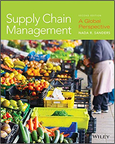 Solution manual for Supply Chain Management: A Global Perspective 2nd Edition by Nada R. Sanders