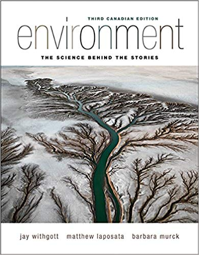 Test bank for Environment: The Science Behind the Stories 3rd Canadian Edition by Jay H. Withgott