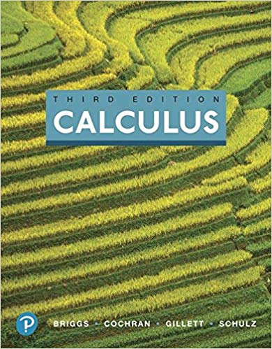 Solution manual for Calculus 3rd Edition by William L. Briggs