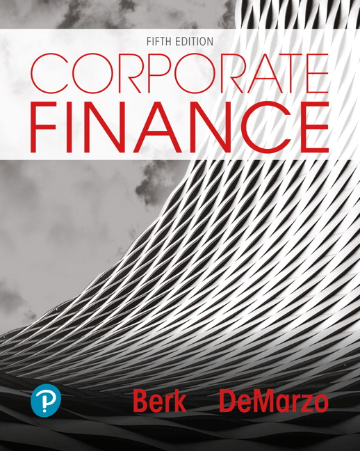 Test bank for Corporate Finance 5th Edition by Jonathan Berk的图片 1
