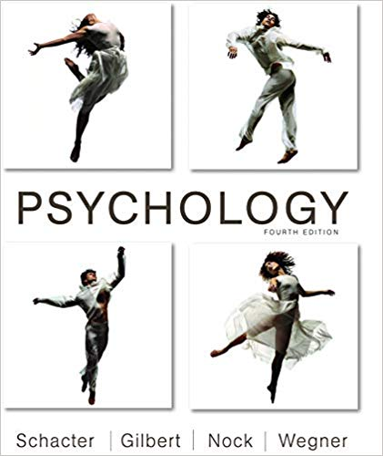 Test bank for Psychology 4th Edition by Daniel L. Schacter