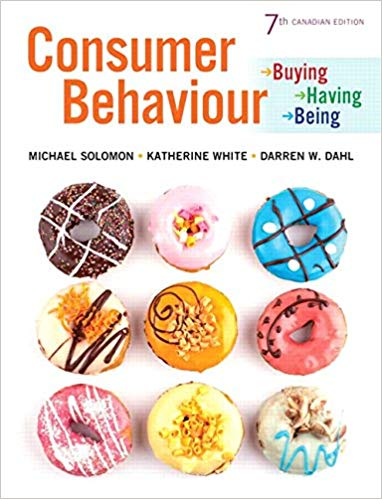 Test bank for Consumer Behaviour: Buying, Having, and Being, 7th Canadian Edition by Michael R. Solomon的图片 1