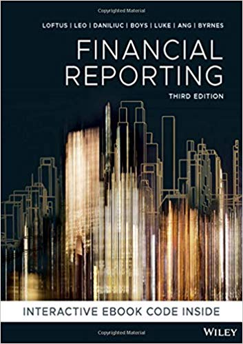 test bank for Financial Reporting 3rd Edition by Janice Loftus