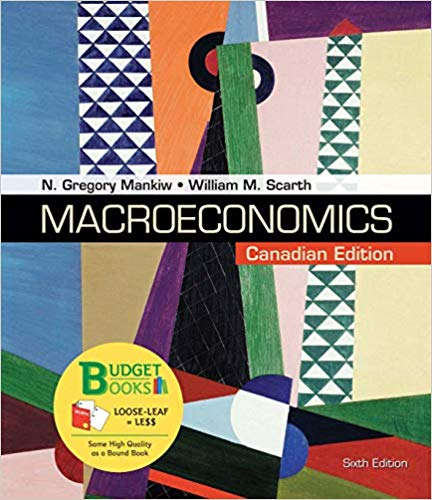 Test bank for Macroeconomics Canadian 6th Edition by N. Gregory Mankiw