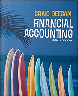 Test bank for Financial accounting 9th Australia Edition by Craig Deegan的图片 1