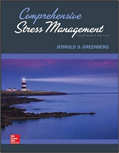 Test bank for Comprehensive Stress Management 14th Edition by Jerrold Greenberg的图片 1