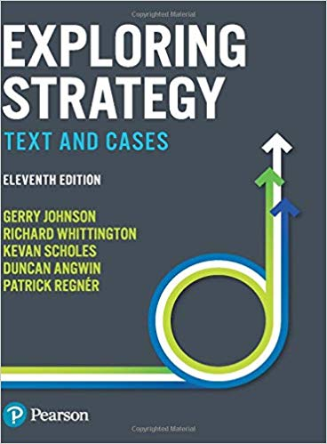 Solution Manual For Exploring Strategy Text and Cases 11th Edition by Gerry Johnson
