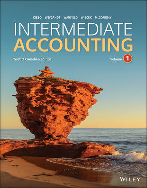 solution manual for Intermediate Accounting, Volume 1, 12th Canadian Edition by Donald E. Kieso的图片 1