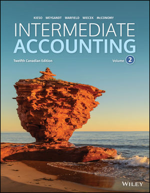 solution manual for Intermediate Accounting, Volume 2, 12th Canadian Edition by Donald E. Kieso