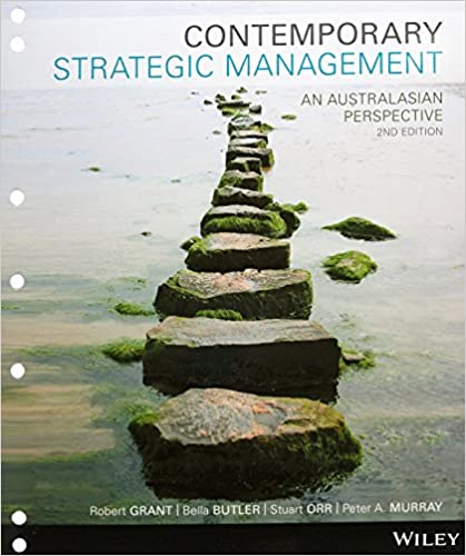 Test bank for Contemporary Strategic Management: An Australasian Perspective 2nd Edition by Robert M. Grant的图片 1