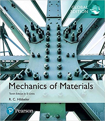 Solution manual for Mechanics of Materials in SI Units Global 10th Edition by Russell C. Hibbeler