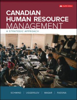 Test bank for Canadian Human Resource Management 12th Canadian Edition By Hermann Schwind的图片 1