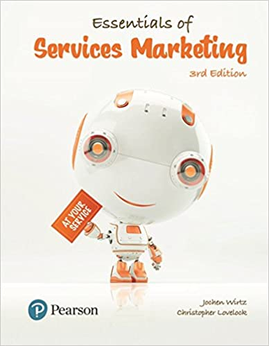 Test bank for Essentials of Services Marketing 3rd Edition by Jochen Wirtz