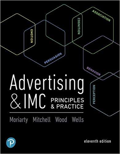 Test bank for Advertising & IMC: Principles and Practice 11th Edition by Kitty Locker