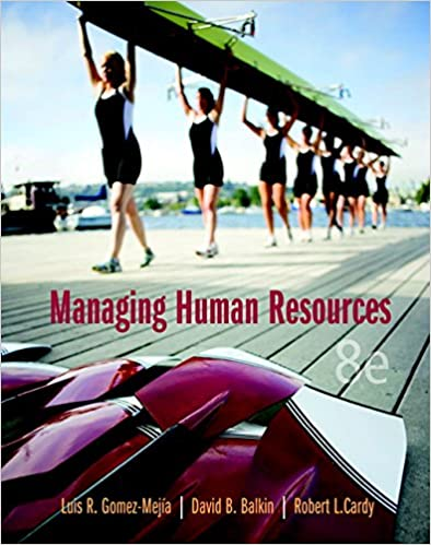 Test bank for Managing Human Resources 8th Edition by Luis R. Gomez-Mejia的图片 1