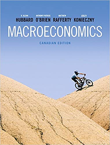 Test bank for Macroeconomics 1st Canadian Edition by R. Glenn Hubbard的图片 1