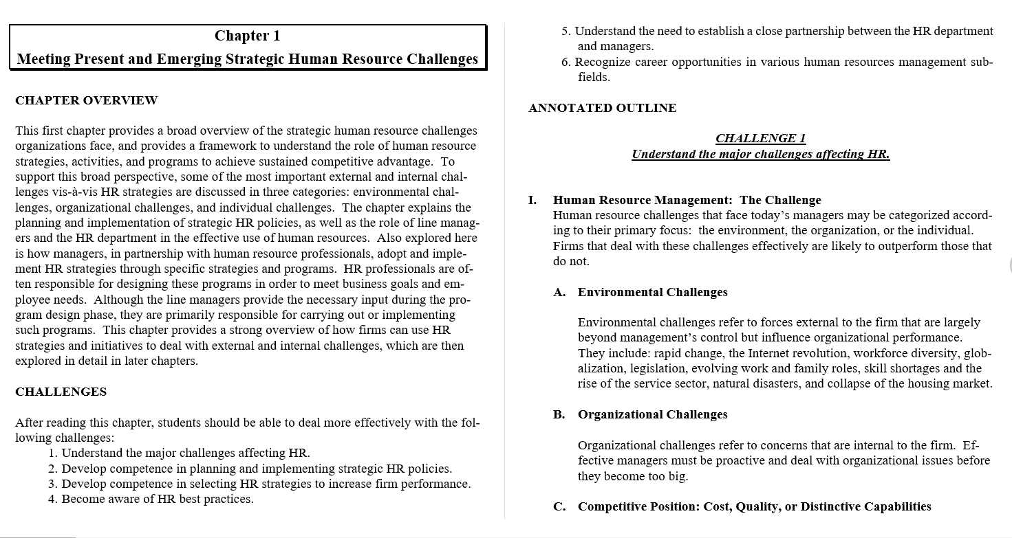 Solution manual for Managing Human Resources 8th Edition by Luis R. Gomez-Mejia的图片 3