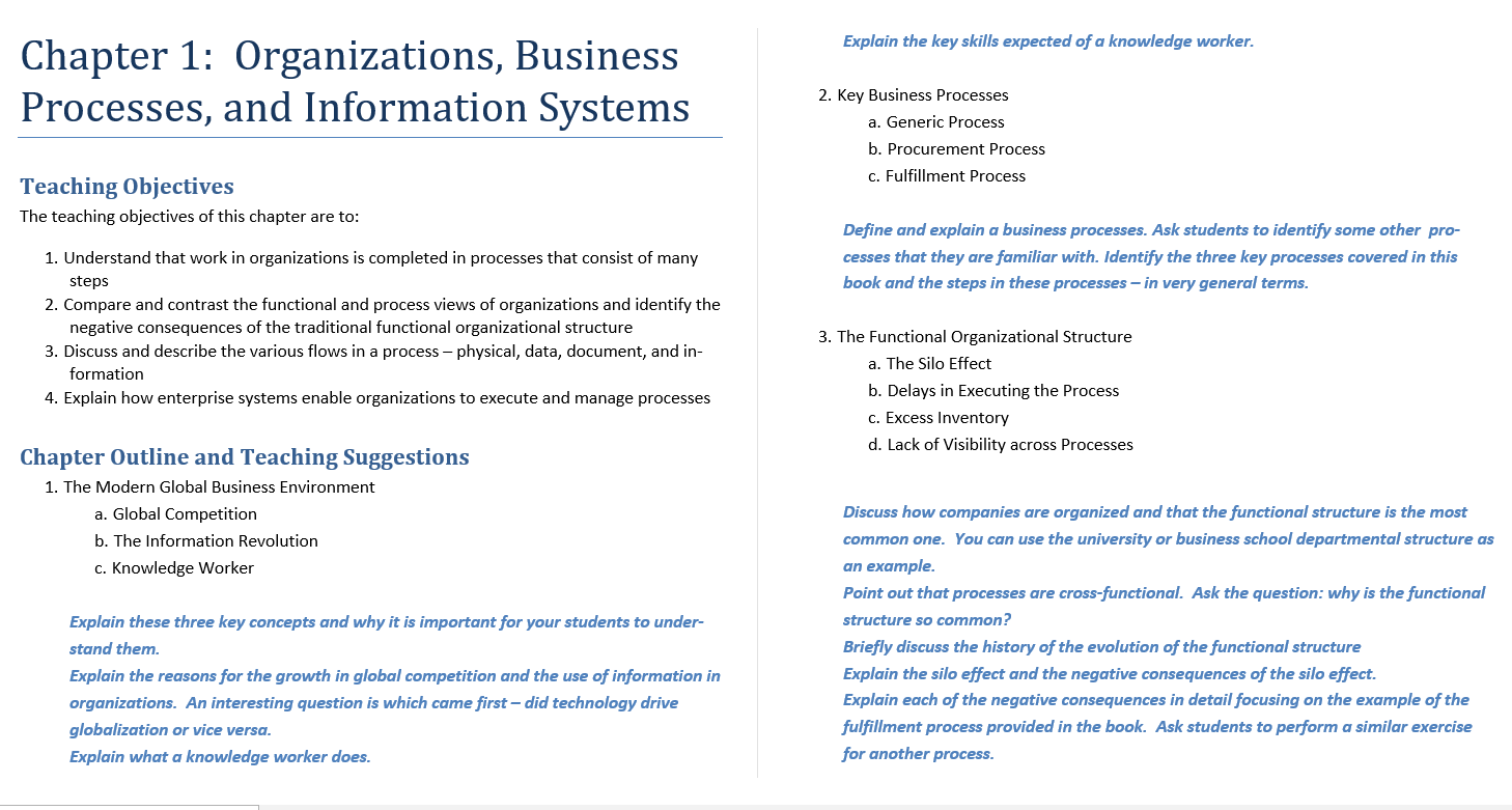Solution manual for Essentials of Business Processes and Information Systems 1st Edition by Simha R. Magal的图片 3