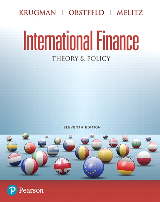 Solution manual for International Finance: Theory and Policy 11th Edition by Paul R. Krugman