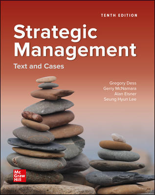 Test bank for Strategic Management: Text and Cases 10th Edition by Gregory Dess