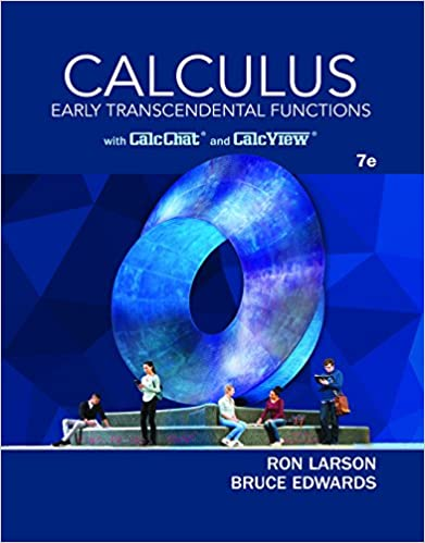 Solution manual for Calculus: Early Transcendental Functions 7th edition by Ron Larson