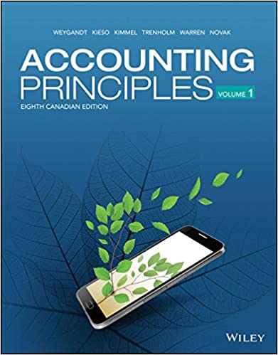 Test bank for Accounting Principles Volume 1, 8th Canadian Edition by Jerry J. Weygandt