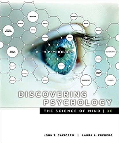 Test bank for Discovering Psychology: The Science of Mind 3rd Edition by John T. Cacioppo
