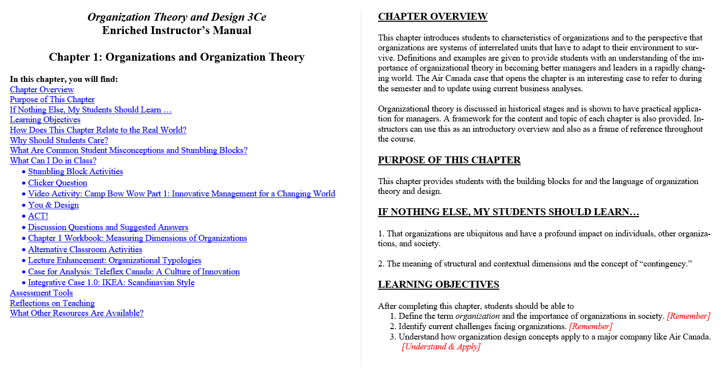 Solution manual for Organization Theory and Design Canadian 3rd edition by Richard L. Daft的图片 3