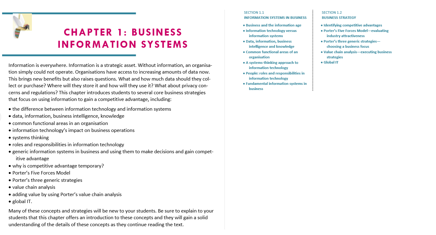 Solution manual for Business-Driven Information Systems 3rd edition by Paige Baltzan的图片 4
