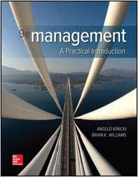 Solution manual for Management: A Practical Introduction 9th Edition by Angelo Kinicki