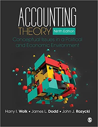 Solution manual for Accounting Theory: Conceptual Issues in a Political and Economic Environment 9th Edition by Harry I. Wolk