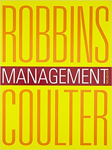 Test bank for Management 12th Edition by Stephen P. Robbins