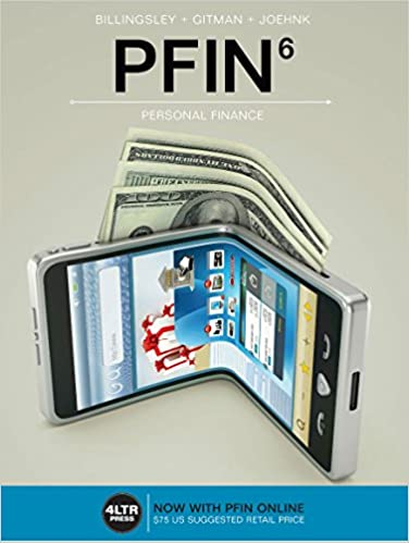 Solution manual for PFIN 6th Edition by Randall Billingsley的图片 1