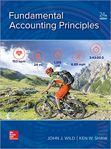 Solution manual for Fundamental Accounting Principles 24th Edition by John Wild
