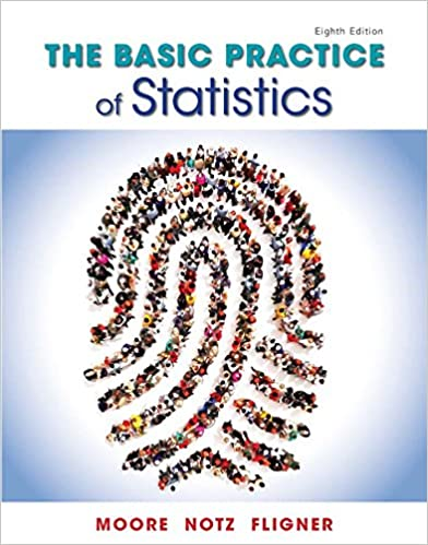 Test bank for The Basic Practice of Statistics 8th Edition by David Moore