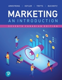 Test bank for Marketing: An Introduction 7th Canadian Edition by Gary Armstrong