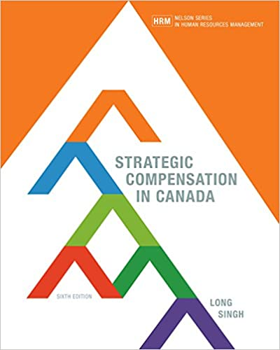 Solution manual for Strategic Compensation in Canada 6th edition by Richard Long