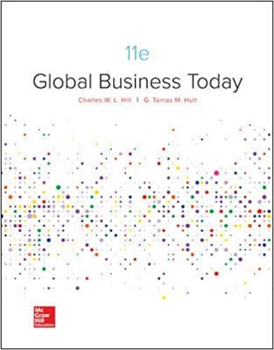 Test bank for Global Business Today 11th Edition by Charles Hill
