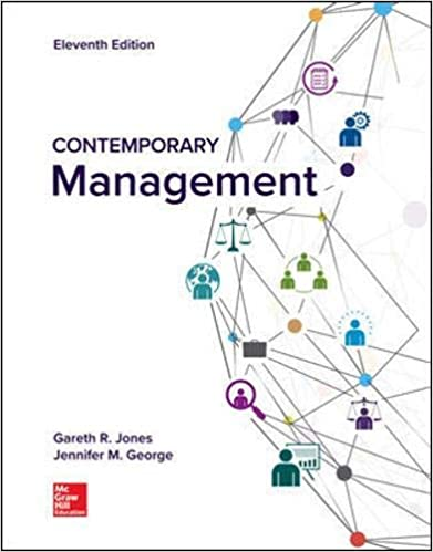 Test bank for Contemporary Management 11th Edition by Gareth Jones