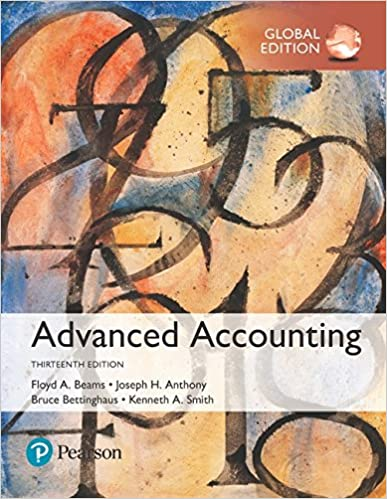 Solution manual for Advanced Accounting Global Edition 13th Edition by Joseph Anthony