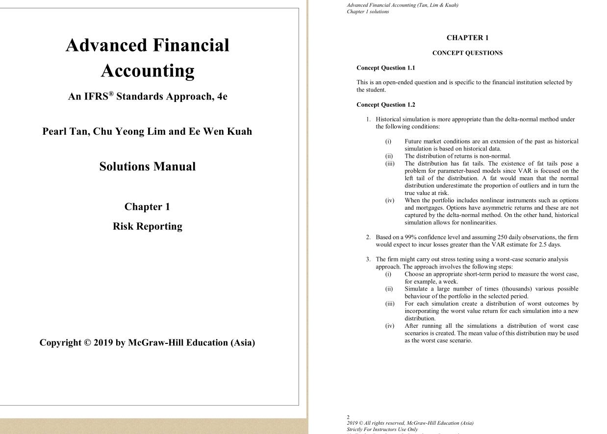 solution manual for Advanced Financial Accounting: An IFRS Standards Approach 4th Edition by Pearl Tan的图片 3